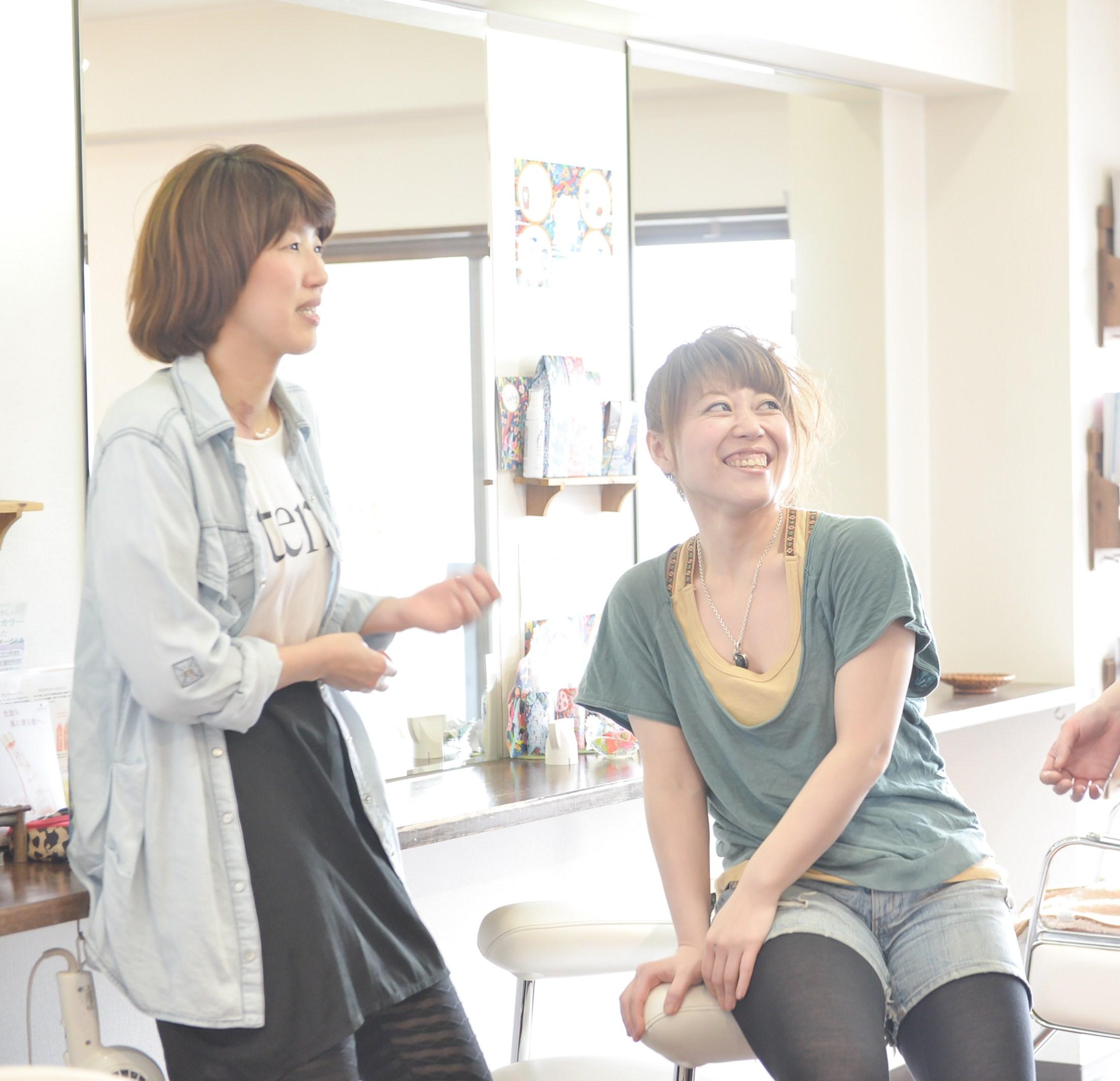 下北沢 美容室 美容院 ヘアサロン 女性スタッフ 女性スタイリストのみ オーガニック ヘッドスパ 電子トリートメント
